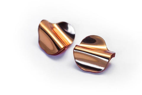 Reflect Copper Earrings - Flow Small Stud
