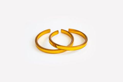 Reflect Gold Bangle