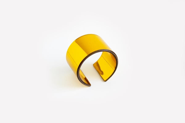 Reflect Gold Cuff - Wide