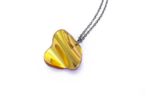 Reflect Gold - Necklace - Flow Small