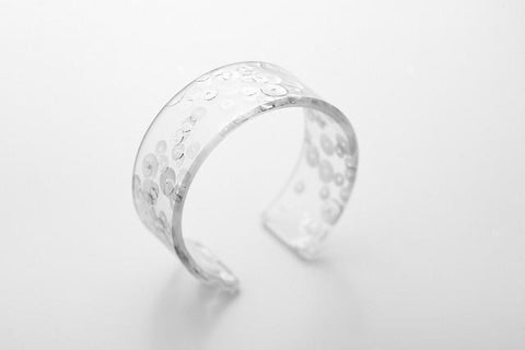 Regency Silver Cuff - Narrow