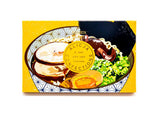 Alicja Confections Chocolate- RAMEN BOWL • DRIED RAMEN 33.6% MILK CHOCOLATE
