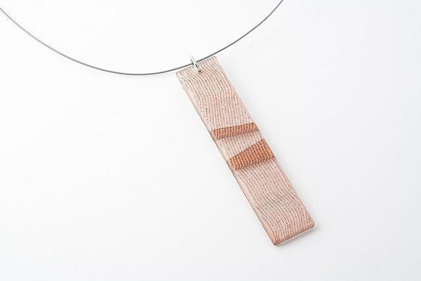 Swept Copper Necklace - Long