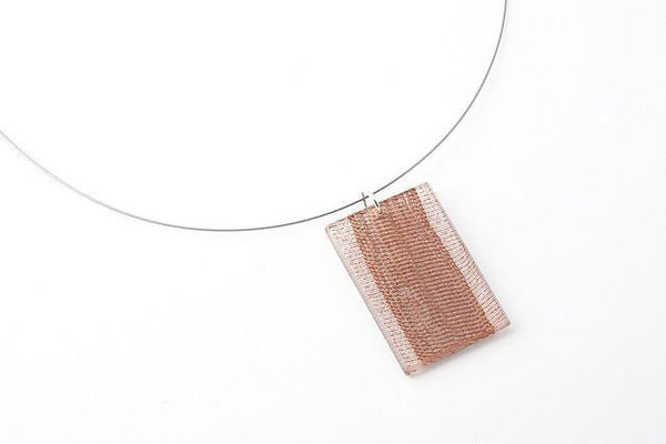 Swept Copper Necklace - Regular