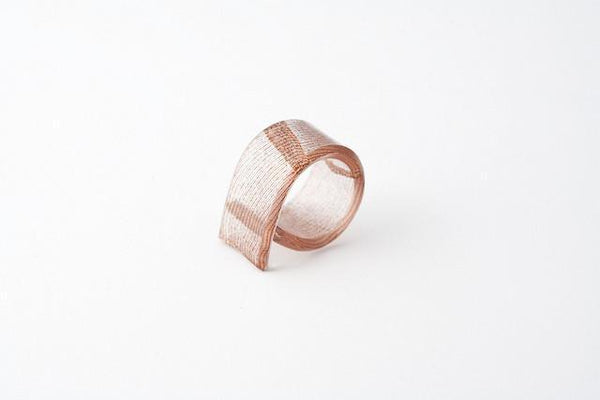 Swept Copper Ring