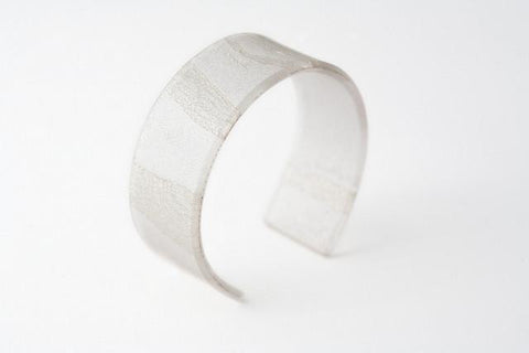 Swept Silver Cuff - Narrow