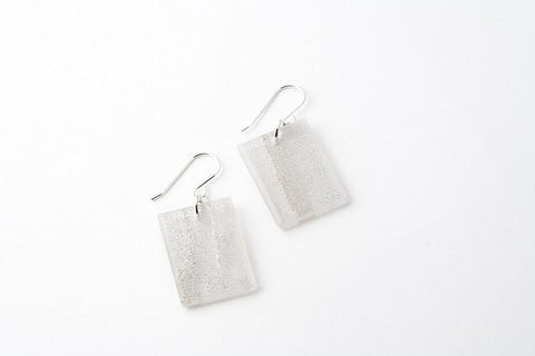 Swept Silver Earrings - Regular
