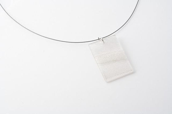 Swept Silver Necklace - Regular