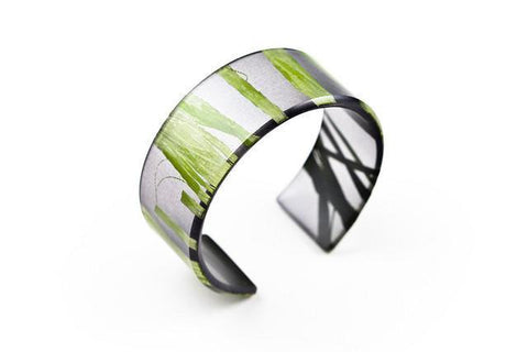 Seaweed Black Cuff - Narrow