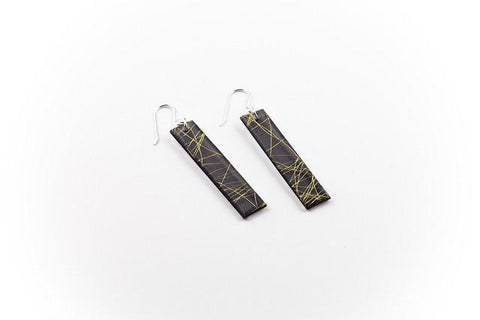 Wisp Gold Earrings - Long