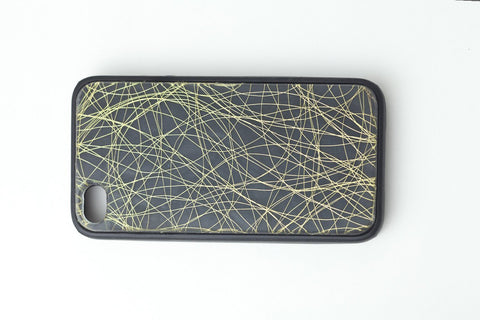 Wisp Gold iPhone Case