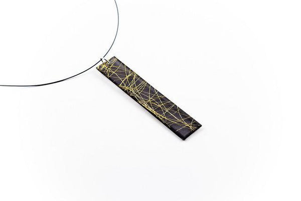 Wisp Gold Necklace - Long