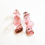 Ecoresin Earrings - Flow Long