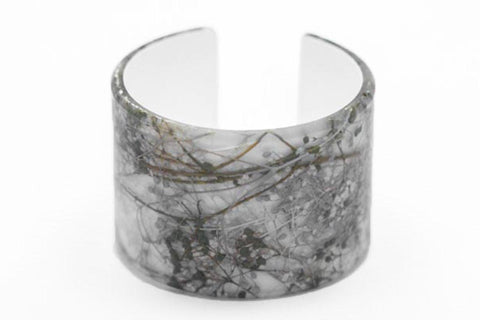 Whisper White Cuff - Wide