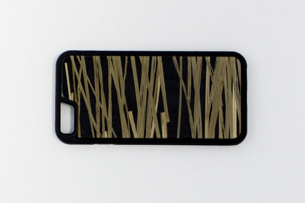 Bear Grass Black iPhone Case