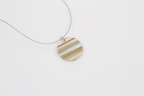 Bear Grass Lite Necklace - Circle