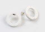 Corian Open Circle Earrings