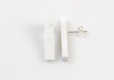 Corian Stick Earrings - Winter