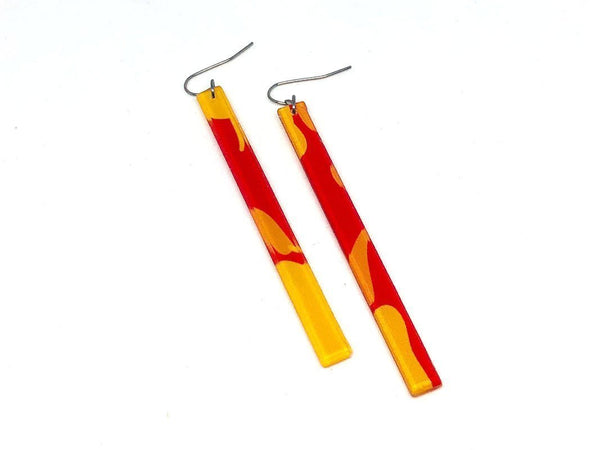 Chili Pop Earrings - Skinny