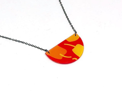 Chili Pop Necklace - Half Circle