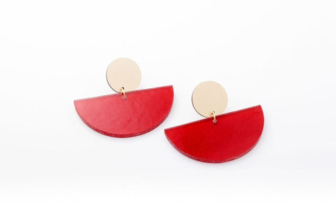 Cranberry Earrings - Bonita