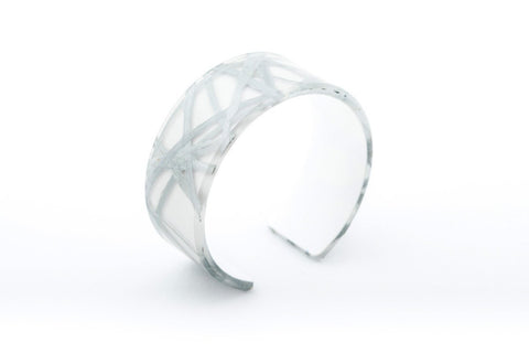 Connection Silver Cuff - Narrow