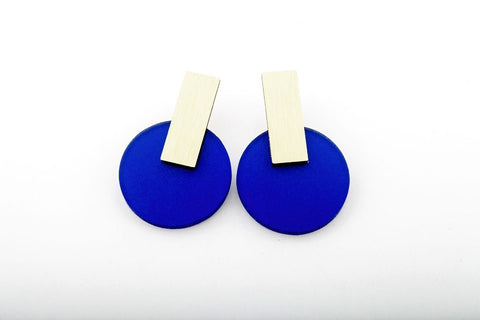Cobalt Earrings - Billy