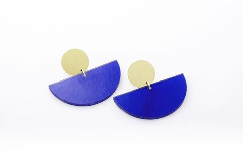 Cobalt Earrings - Bonita