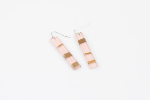 Electra Rose Earrings - Long