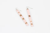 Ecoresin Earrings - Skinny