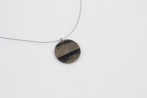 Fray Smoke Necklace - Circle
