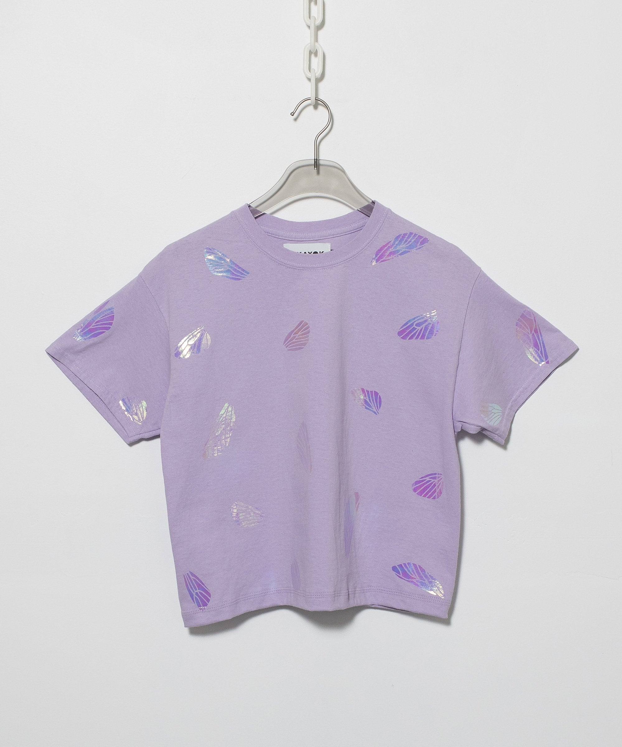 Insect Wing Truss Tee - Thistle