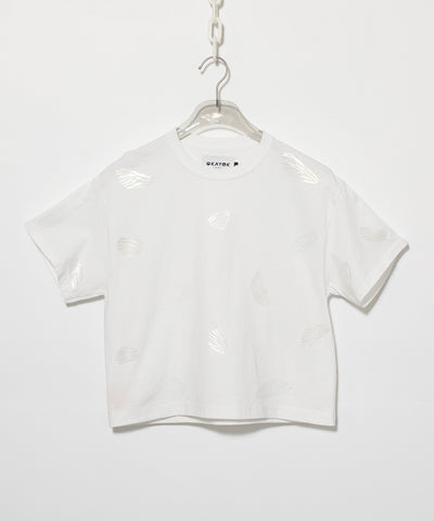 Insect Wing Truss Tee - White
