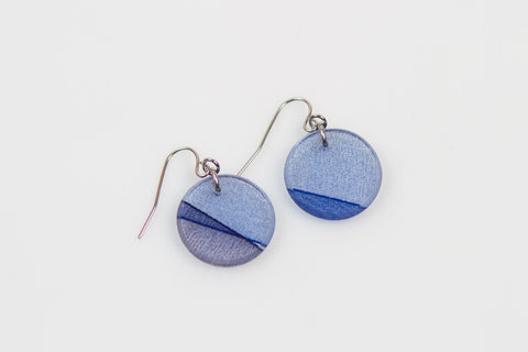 Mirage Twilight Earrings - Circle