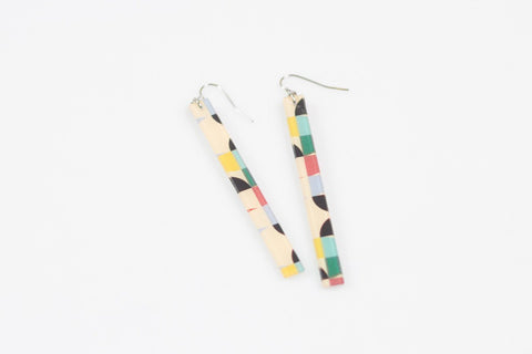 Mid Pop Earrings - Skinny
