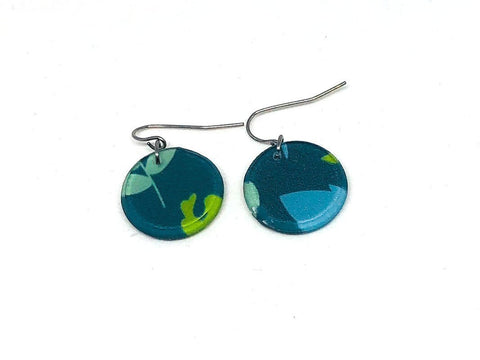 Plant Pop Earrings - Circle