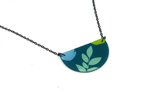 Plant Pop Necklace - Half Circle
