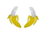 BANANA  EARRINGS- Large