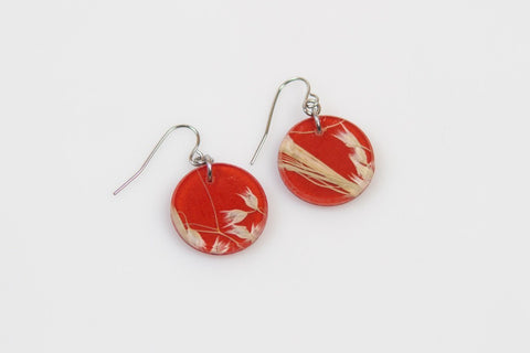 Rice Grass Mesa Earrings - Circle