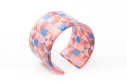 Rose Pop Cuff - Wide