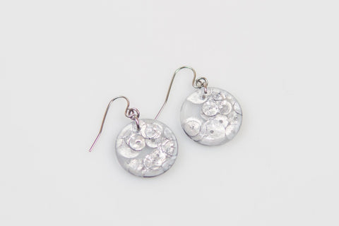 Regency Silver Earrings - Circle