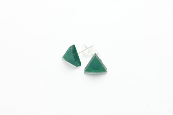 Sea Stud Earrings - Triangle