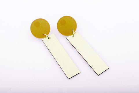 Vitamin C Earrings - Michael