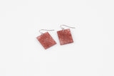 Wild Silk Mulberry Earrings - Regular