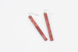 Wild Silk Mulberry Earrings - Skinny