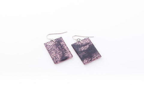 Wild Silk Rose Earrings - Regular