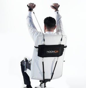 Noonchi Office Chair workout, office workout, home workout.