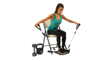 Load image into Gallery viewer, Noonchi V2 Chair Workout home gym!  Easily attaches to ANY chair.