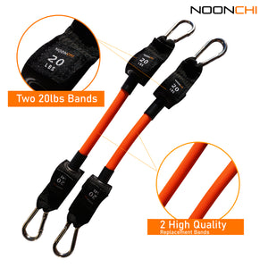 Noonchi Chair Workout replacement 20 lb band set