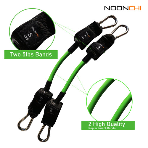 Noonchi Chair Workout replacement 5 lb band set